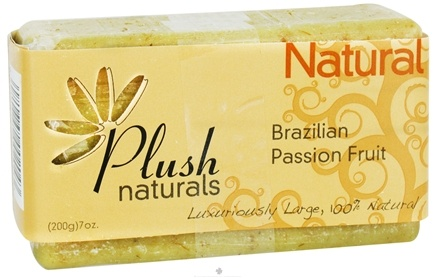 DROPPED: Plush Naturals - Bar Soap Brazilian Passion Fruit - 7 oz. CLEARANCE PRICED