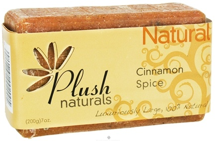 DROPPED: Plush Naturals - Bar Soap Cinnamon Spice - 7 oz.