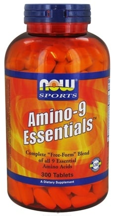 DROPPED: NOW Foods - Amino-9 Essentials - 300 Tablets