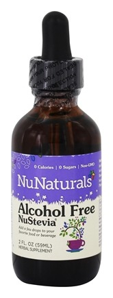 NuNaturals - Pure Liquid NuStevia Alcohol Free - 2 oz.