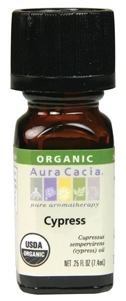 DROPPED: Aura Cacia - Essential Oil Organic Cypress - 0.25 oz. CLEARANCE PRICED