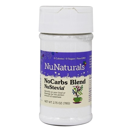 NuNaturals - NuStevia NoCarbs Blend Powder - 2.75 oz.