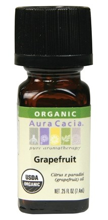 DROPPED: Aura Cacia - Essential Oil Organic Grapefruit - 0.25 oz.
