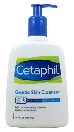 Cetaphil - Gentle Skin Cleanser Fragrance-Free - 16 oz.