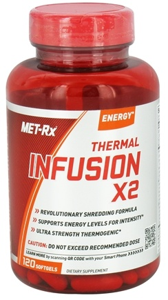 DROPPED: MET-Rx - Thermal Infusion X2 - 120 Softgels