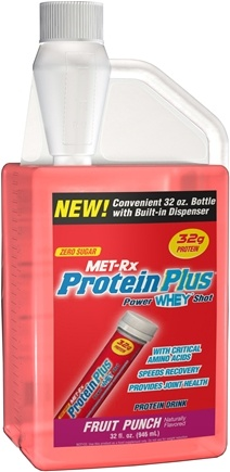 DROPPED: MET-Rx - Protein Plus Power Whey Shot - 32 oz. CLEARANCE PRICED