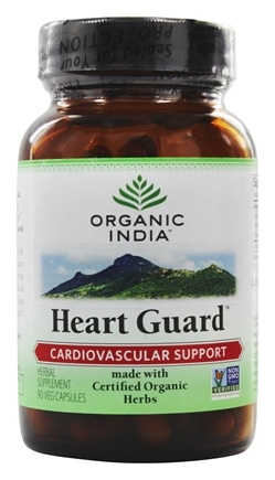 DROPPED: Organic India - Heart Guard Cardiovascular Support - 90 Vegetarian Capsules