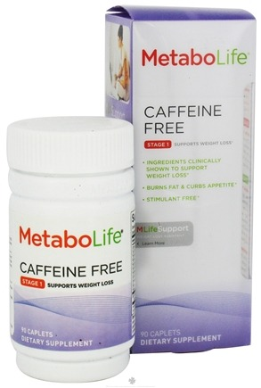DROPPED: MetaboLife - Caffeine Free Stage 1 Weight Loss Support - 90 Caplets CLEARANCE PRICED