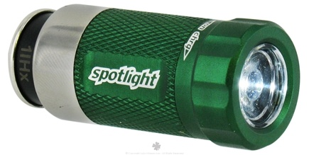 DROPPED: Essential Gear - eGear Spotlight Rechargeable LED Flashlight Green - CLEARANCE PRICED