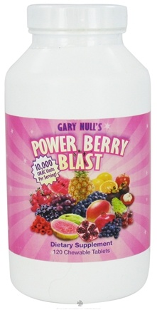 DROPPED: Gary Null's - Power Berry Blast - 120 Chewable Tablets CLEARANCE PRICED