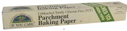 If You Care - Parchment Baking Paper Unbleached Totally Chlorine-Free (TCF) - 70 ft.