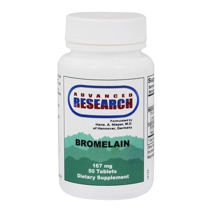 DROPPED: Advanced Research - Bromelain with Papain - 50 Tablets CLEARANCE PRICED