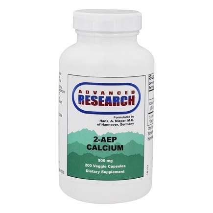 Advanced Research - 2-AEP Calcium - 200 Vegetarian Capsules