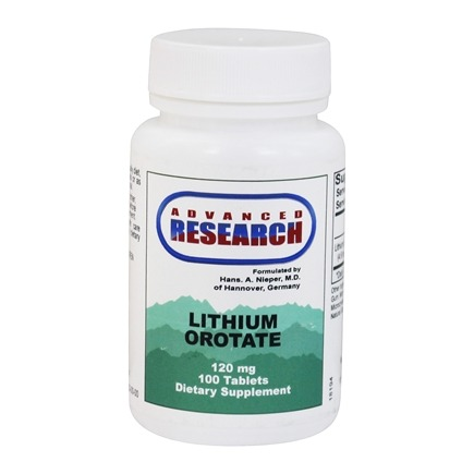 Zoom View - Lithium Orotate