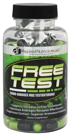 DROPPED: Applied Nutriceuticals - Free Test Testosterone Booster 700 mg. - 100 Capsules