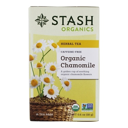 Zoom View - Premium Organic Caffeine Free Herbal Tea Chamomile
