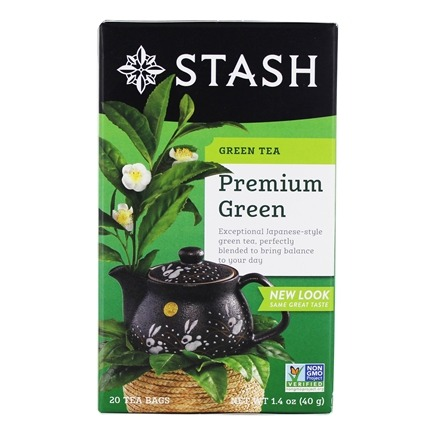 Stash Tea - Premium Green Tea - 20 Tea Bags