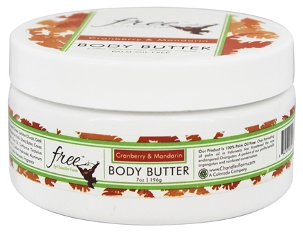 DROPPED: Chandler Farm - Free Body Butter Cranberry & Mandarin - 7 oz.