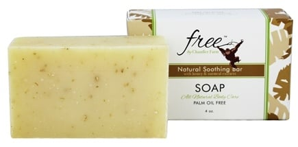 DROPPED: Chandler Farm - Free Soap Natural Soothing Bar with Honey and Oatmeal Extracts - 4 oz.