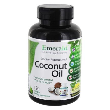 FruitrientsX - Coconut Oil 100% Pure Extra Virgin - 120 Softgels