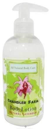 DROPPED: Chandler Farm - Body Lotion Linus's Natural Lavender - 8.3 oz. (formerly Lokan's)