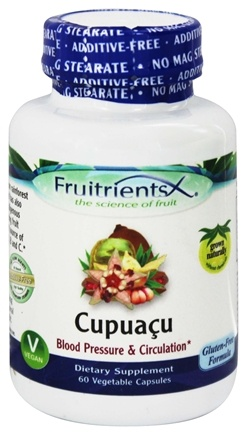 DROPPED: FruitrientsX - Cupuacu Amazonian Super Fruit - 60 Vegetarian Capsules