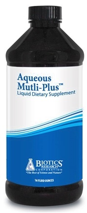 DROPPED: Biotics Research - Aqueous Multi-Plus Liquid - 16 oz.