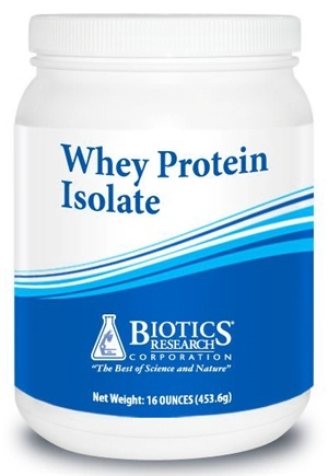 DROPPED: Biotics Research - Whey Protein Isolate - 16 oz. CLEARANCE PRICED