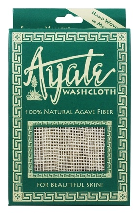 Flower Valley - Ayate Hand-Woven Natural Agave Washcloth