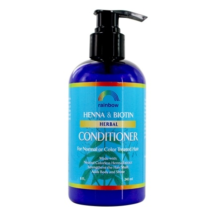 Rainbow Research - Organic Herbal Henna Biotin Conditioner - 8 oz.