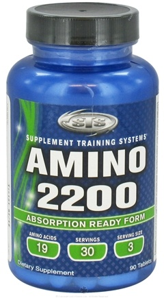 DROPPED: Supplement Training Systems - Amino 2200 - 90 Tablets CLEARANCE PRICED