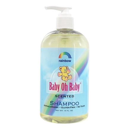 Rainbow Research - Baby Oh Baby Herbal Shampoo Scented - 16 oz.