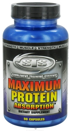 DROPPED: Supplement Training Systems - Maximum Protein Absorption - 90 Capsules CLEARANCE PRICED