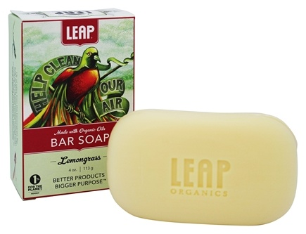 DROPPED: LEAP Organics - Bar Soap Lemongrass - 4 oz.
