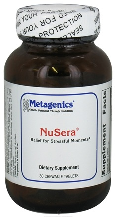 DROPPED: Metagenics - NuSera - 30 Chewable Tablets CLEARANCE PRICED