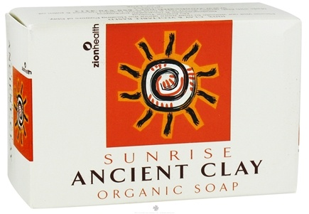 DROPPED: Zion Health - Ancient Clay Organic Bar Soap Sunrise - 6 oz. CLEARANCE PRICED