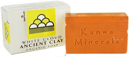 DROPPED: Zion Health - Ancient Clay Organic Bar Soap White Cloud Tangerine - 6 oz.