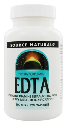 Source Naturals - EDTA 500 mg. - 120 Capsules
