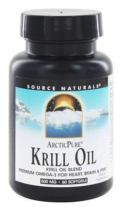 Source Naturals - ArcticPure Krill Oil 500 mg. - 60 Softgels