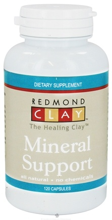 DROPPED: Redmond Trading - Redmond Clay Mineral Support - 120 Capsules