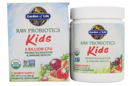 Buy Garden of Life RAW Probiotics Kids 34 oz at LuckyVitamincom