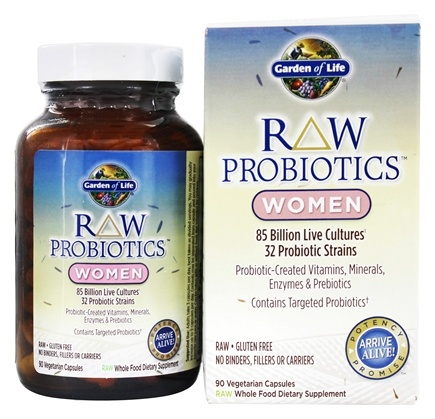 Buy Garden of Life RAW Probiotics Women 90 Vegetarian Capsules