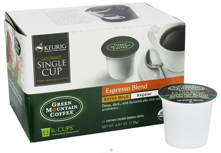 DROPPED: Keurig - Green Mountain Coffee Espresso Blend 12 K-Cups - 4.87 oz.