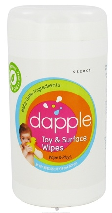 DROPPED: Dapple - Toy & Surface Wipes - 35 Wipe(s) CLEARANCE PRICED