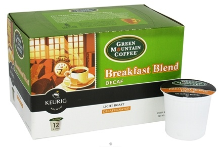 DROPPED: Keurig - Green Mountain Coffee Breakfast Blend Decaf 12 K-Cups - 4.02 oz. CLEARANCE PRICED