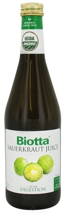 DROPPED: Biotta - Organic Sauerkraut Juice - 16.9 oz. CLEARANCE PRICED