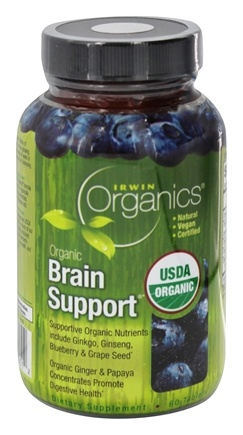 Zoom View - Organics Brain Support