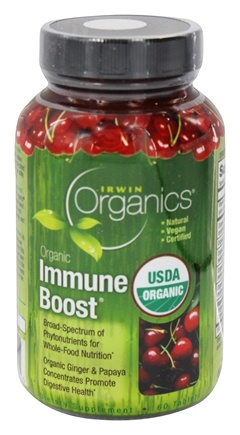 Zoom View - Organics Immune Boost