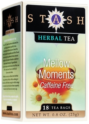 DROPPED: Stash Tea - Premium Caffeine Free Herbal Tea Mellow Moments - 18 Tea Bags