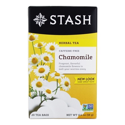 Zoom View - Premium Caffeine Free Herbal Tea Chamomile